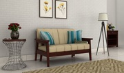 Get Great Deals on Alluring Designs of 2 seater sofa at Wooden Space