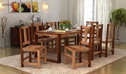 Buy Well Furnished & Stylish Wooden Dining Table Set in the UK